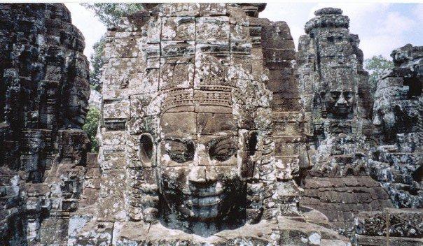 Angkor Wat's Bayon temple