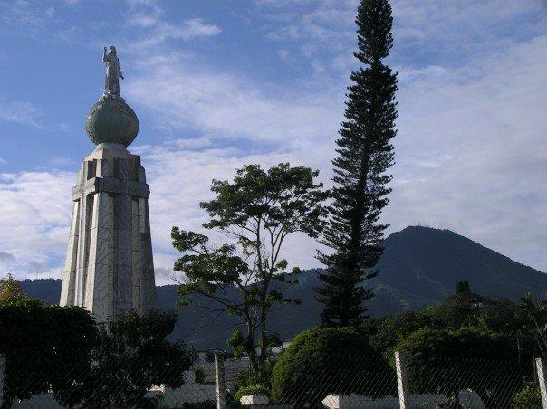 El Monumento al Divino Salvador del Mundo, San Salvador