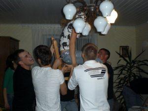 The birthday party in Vilnius