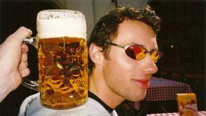 Huge beer glasses in Munich