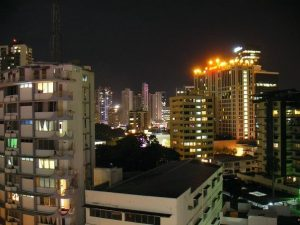 Panama City night view