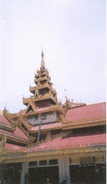 Stupa in Kawthoung, Myanmar
