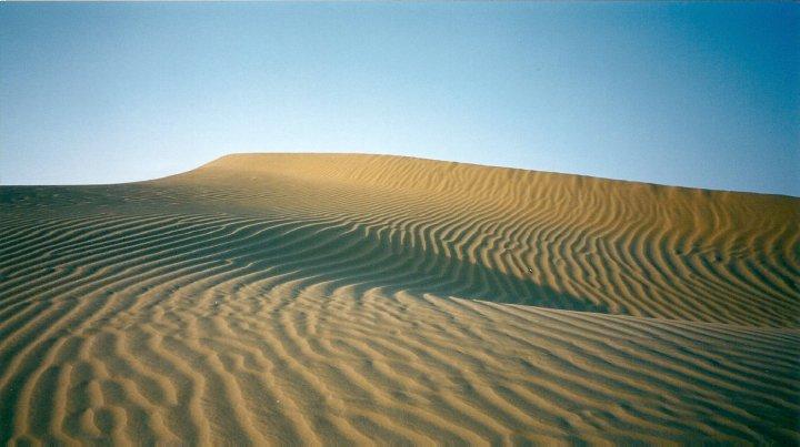 Thar Desert sand dunes