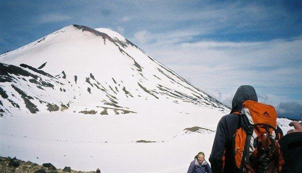 Mt Ngauruhoe, seen from the Tongariro Crossing