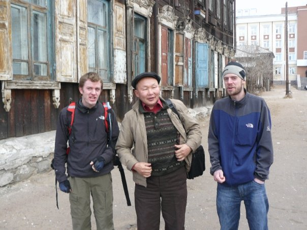 Jolly chap we met on the bus in Ulan Ude