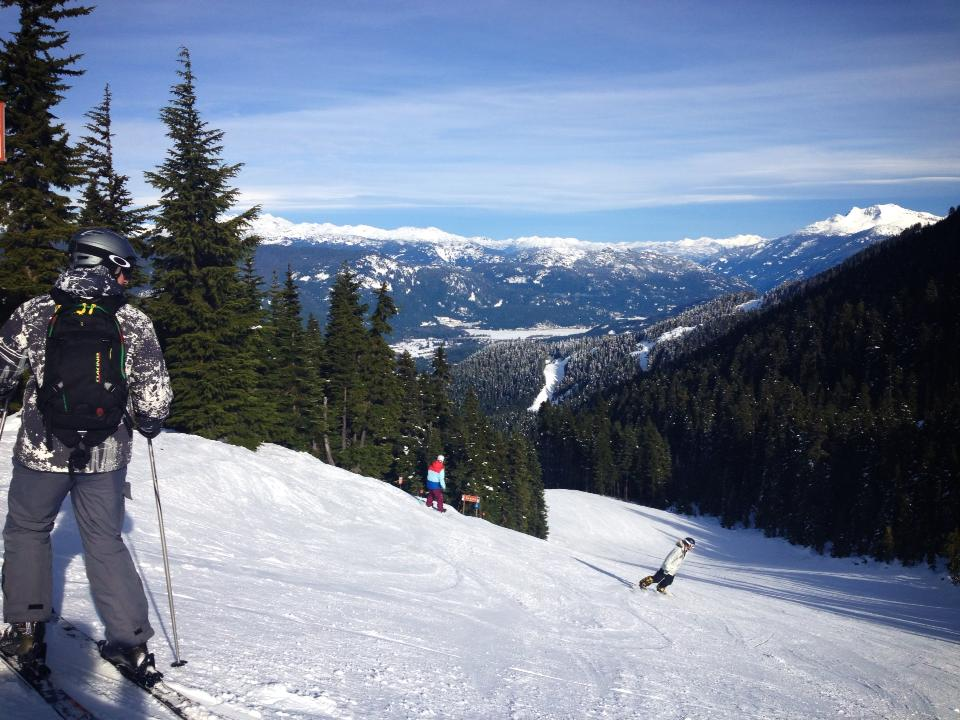 Skiing in Canada: Peak to Creek, Whistler