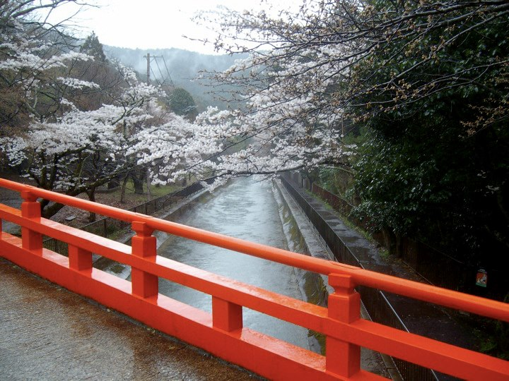 Bridge over the Biwako Canal