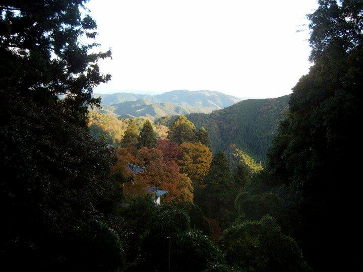 Mountains near Kurama