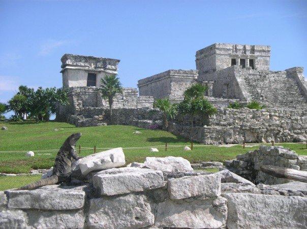The Tulum Mayan ruins