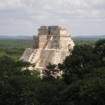 The main pyramid at Uxmal