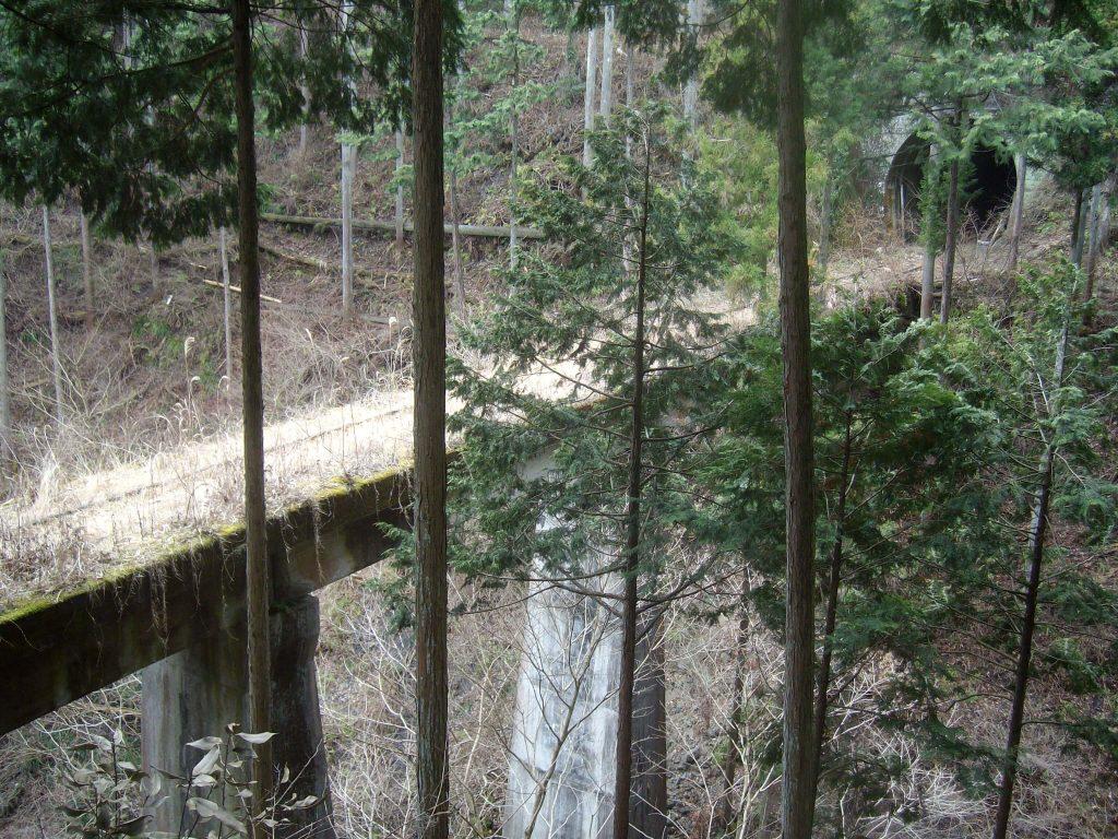 Abandoned Railway next to Okutama Old Road [1024×768][OS]