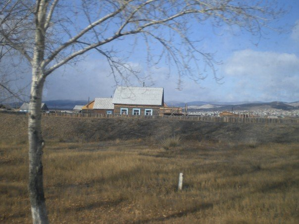 Typical view of Siberia from the train window