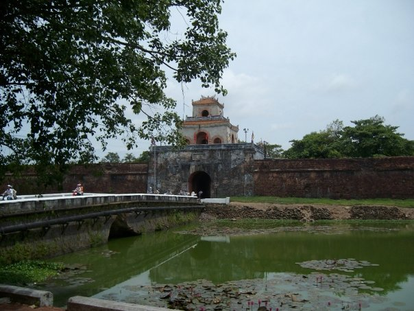 The old fortress in Hue