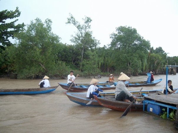 Boat trip, the Mekong delta