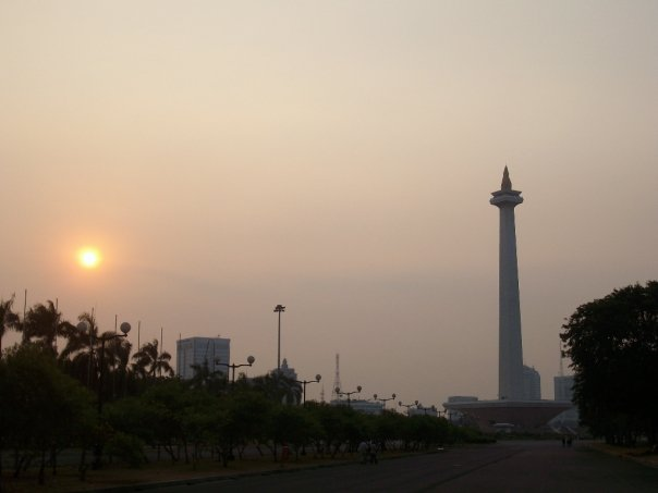 The National monument in Jakarta
