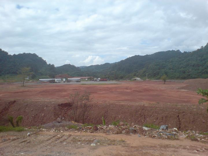 Deforestation in northern Laos