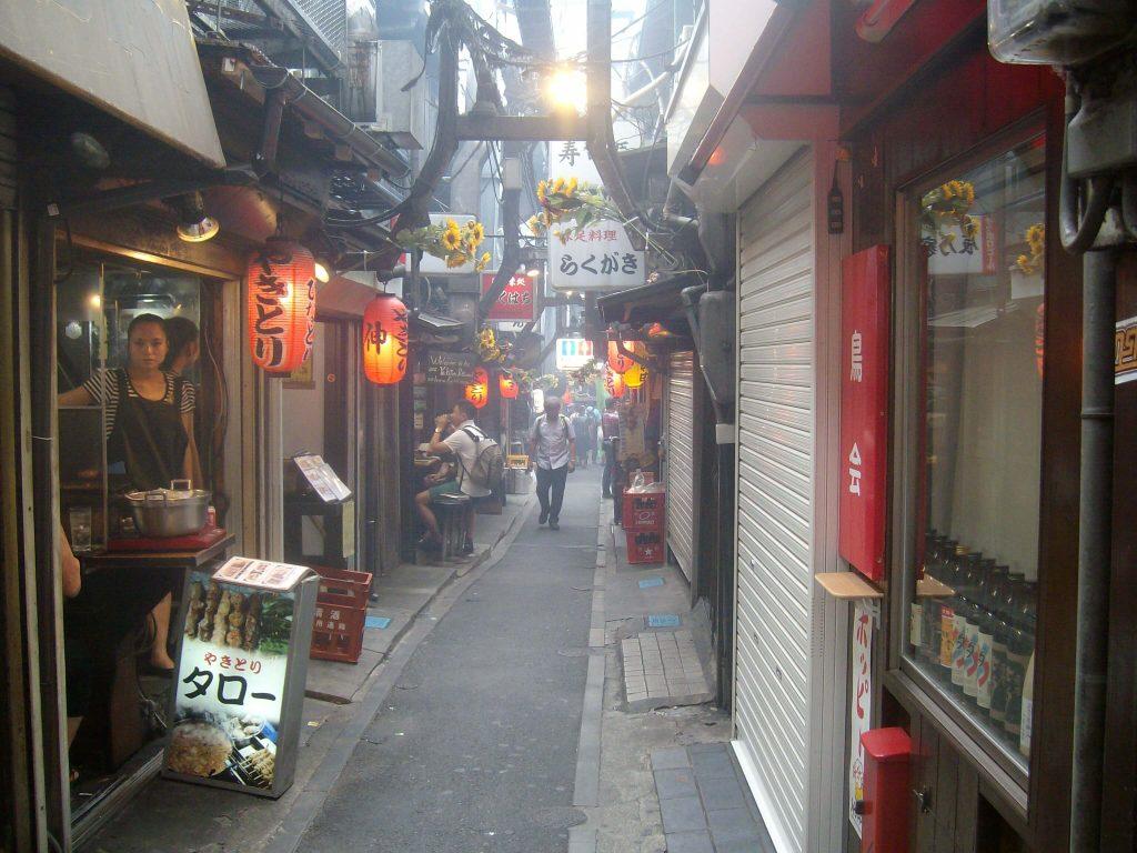 Omoide Yokocho (Memory Alley) aka Shonben Yokocho (Piss Alley), Shinjuku