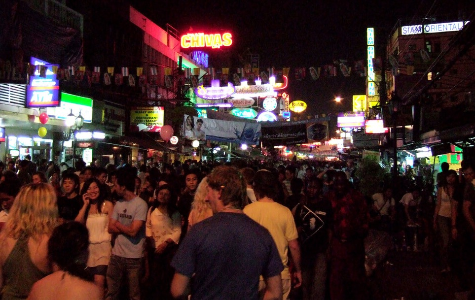 Street party on Khao San Road