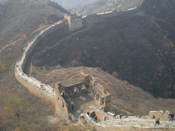The Simatai section of the Great Wall of China