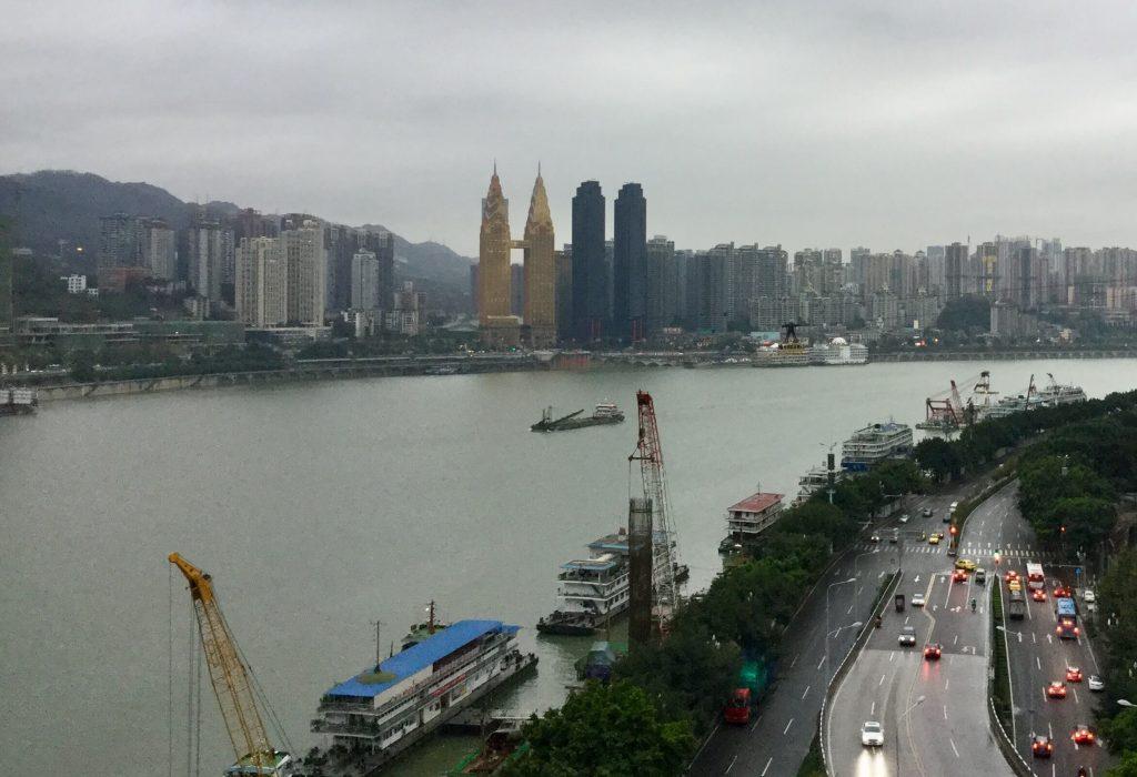 Skyscrapers on the Yangtze River, Chongqing
