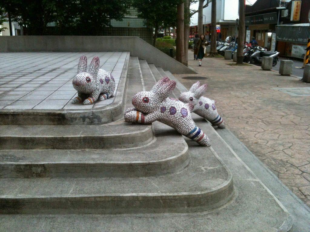 Street art in Taipei's Zhongshan District