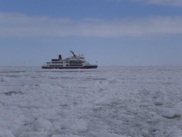 Icebreaker cruise in Abashiri