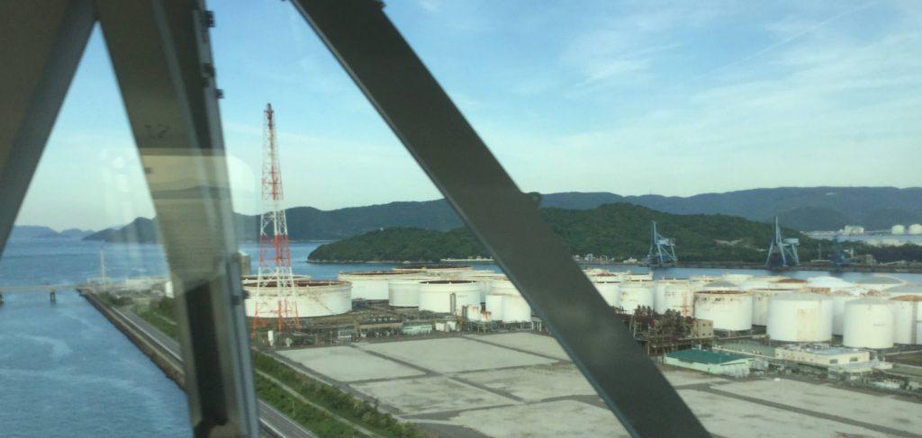 Heavy industry along the Seto Inland Sea
