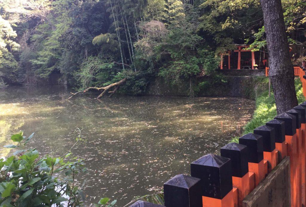 Fushimi Inari pond