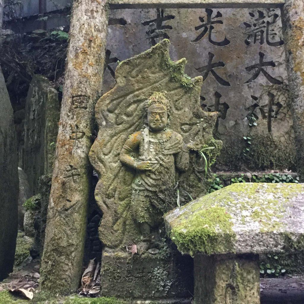 Statue at Fushimi Inari