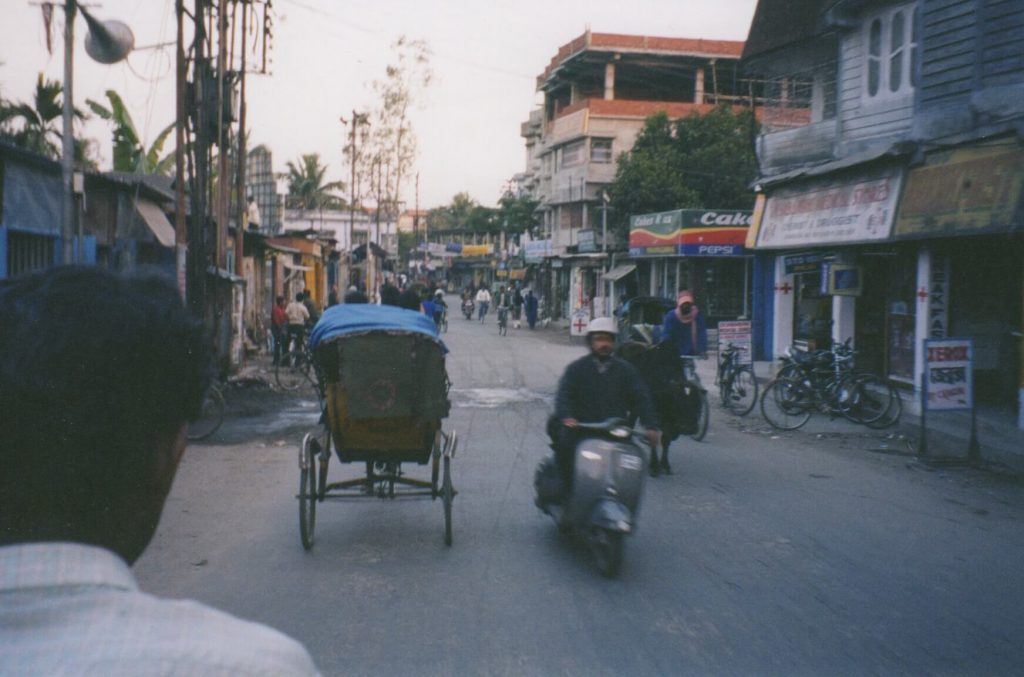 Rickshaw ride in Siliguri