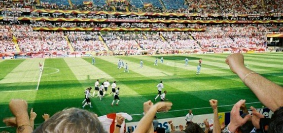 England vs Paraguay at the 2006 World Cup in Germany