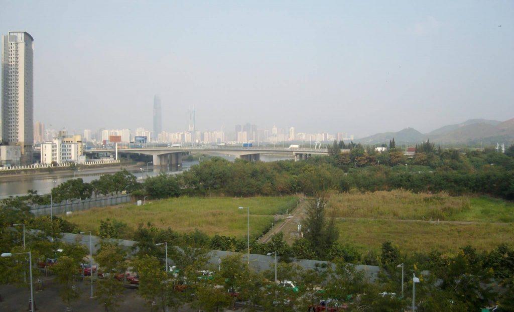 Hong Kong and Shenzhen, Futian checkpoint
