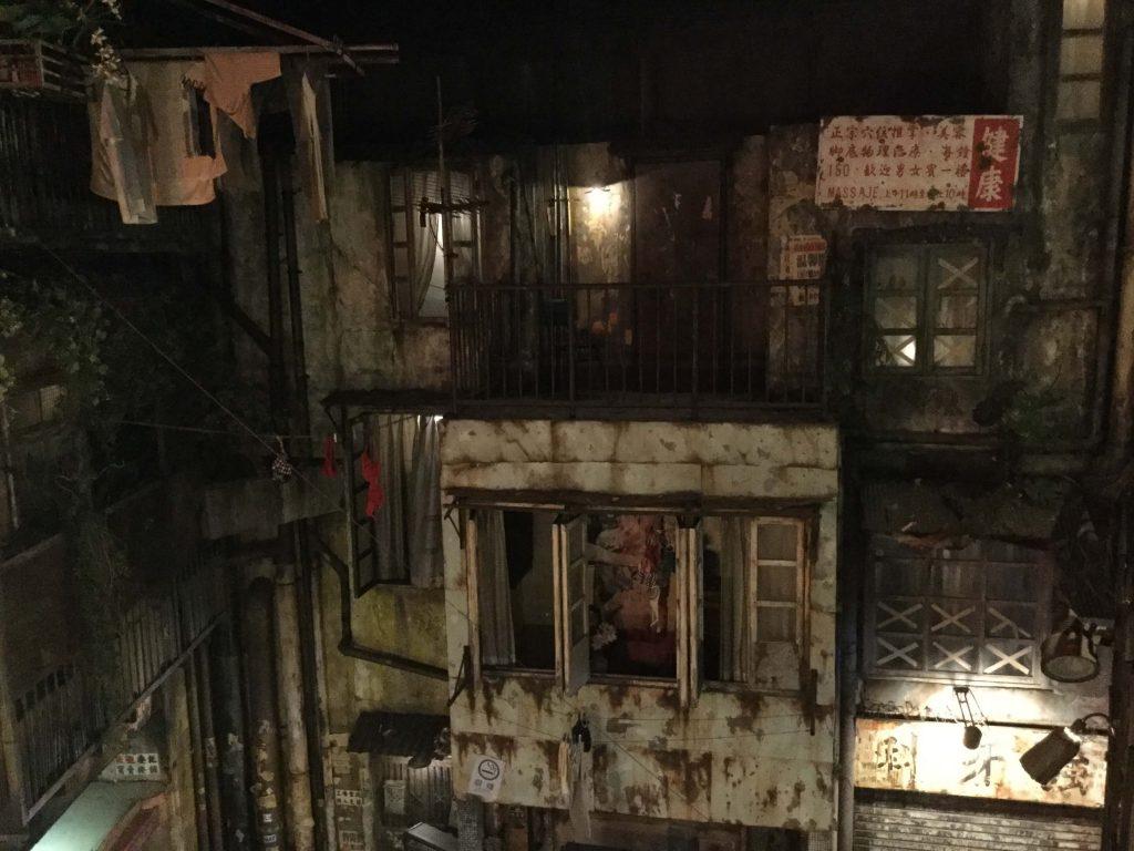 Reproduction of Kowloon Walled City at Anata-no-warehouse, Kawasaki