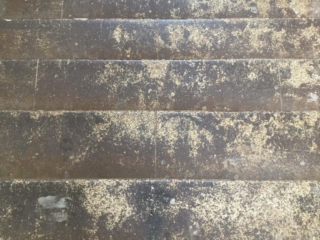 Original steps of the old Manseibashi Station