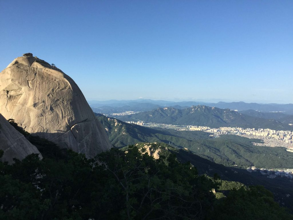 Bukhansan summit view