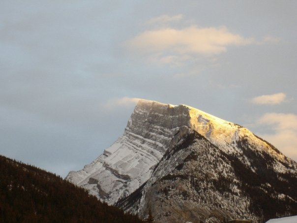 Mountain view from Banff