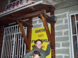 An amusing shop sign in Bansko