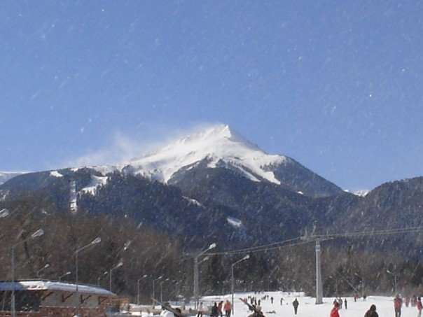 High winds at Bansko