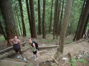 The Grouse Grind hiking trail