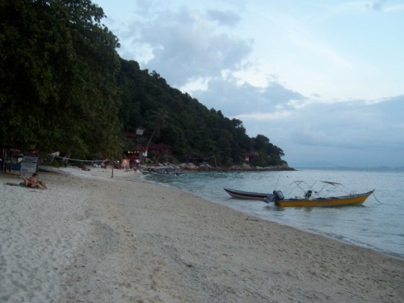 On the beach, Perhentian Islands