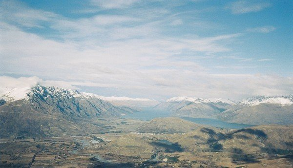 View from the Queenstown - Wanaka road