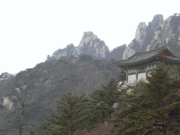 Temple at Dobongsan