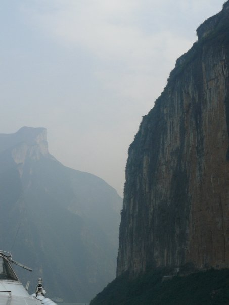Qutang Gorge, most spectacular of the Three Gorges