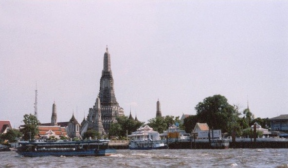 My camera was stolen shortly after photographing this temple (Wat Arun), and my travel insurance didn't pay out