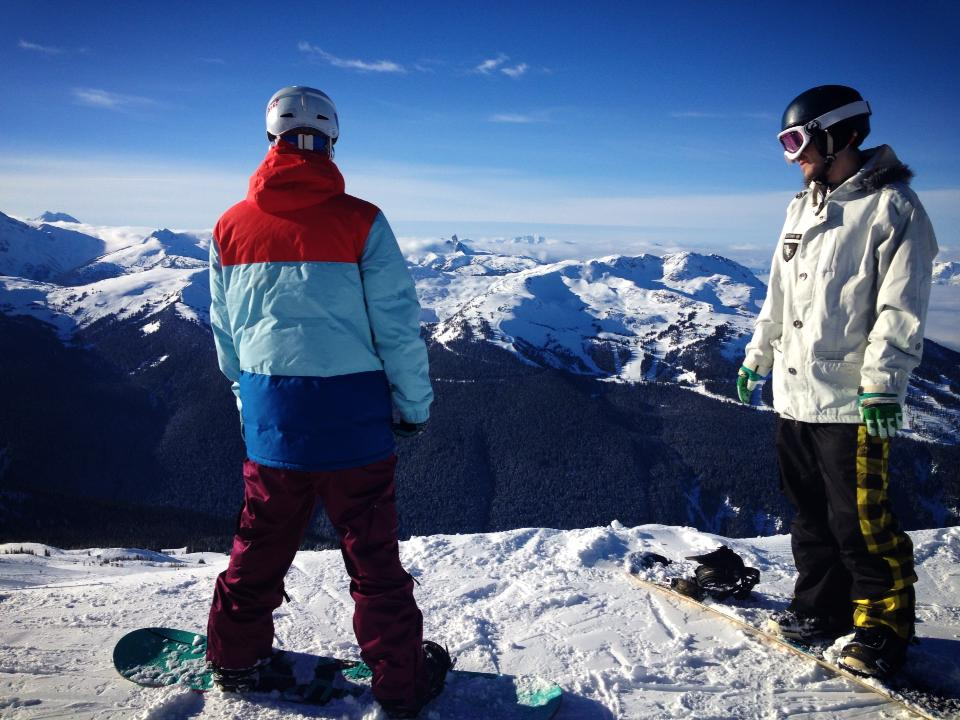 Whistler's 7th Heaven area
