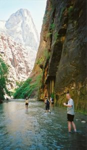 The Narrows, Zion Canyon