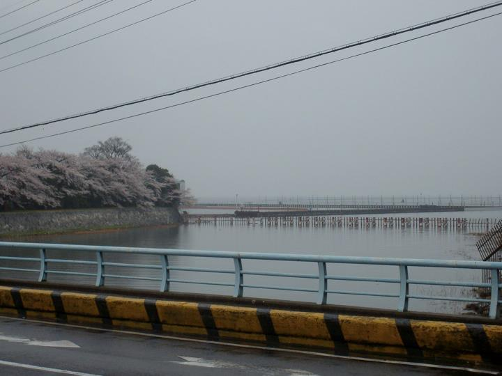 Biwako lakeshore near Miidera station