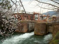 The power station on the Lake Biwa canal