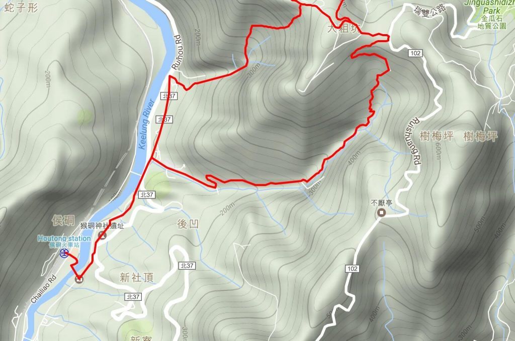 Dacukeng loop map