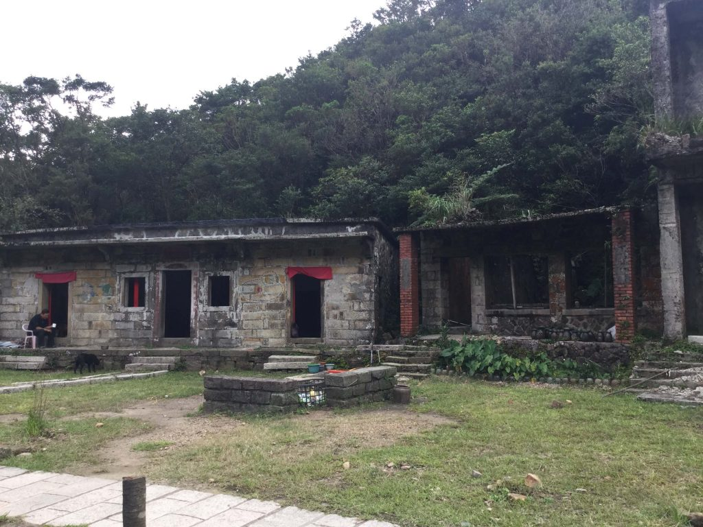 Abandoned buildings in Dacukeng